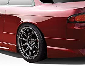 Extreme Dimensions Duraflex Replacement for 1995-1998 Nissan 240SX S14 C-Speed 50mm Rear Fenders - 2 Piece