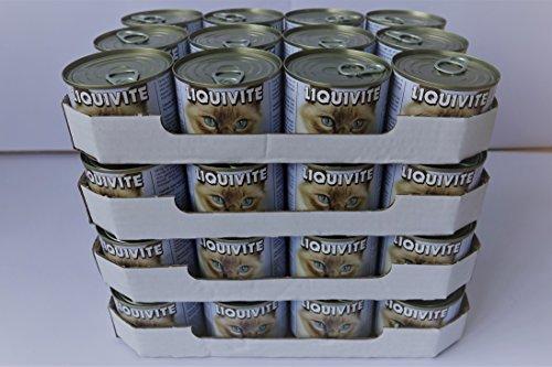 Liquivite Suppe für Katzen 48 x 200g Dose handliche Größe