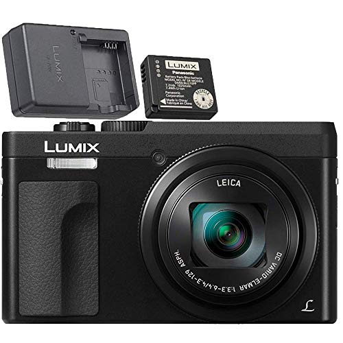Panasonic LUMIX DC-ZS70S 20.3MP 4K Digital Camera (Black) with Battery and...