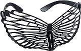 Loftus International Star Power Novelty Butterfly Glasses Black One-Size (6' Wide) Novelty Item