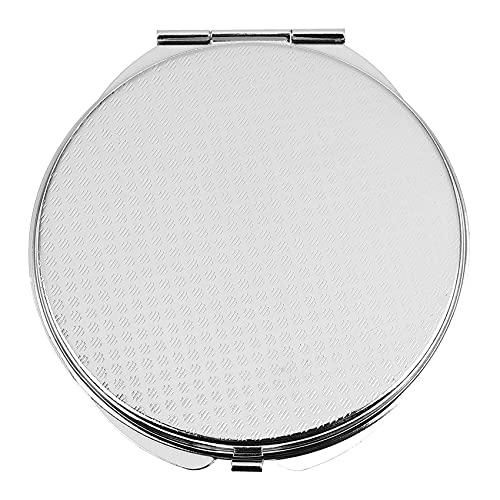Cobeky Miroir de poche pliable pour maquillage – Argent