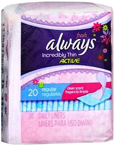 always liners fresh - 6