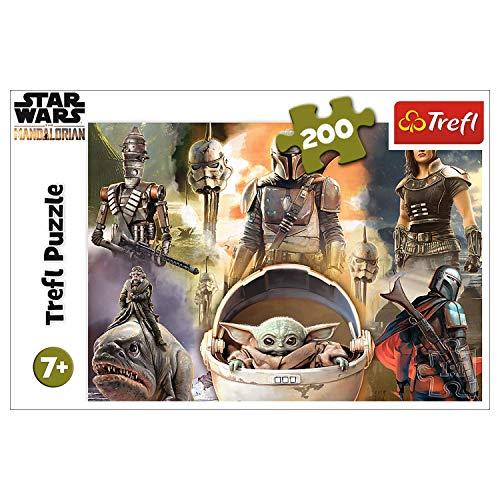 Trefl- Bereit Zum Kämpfen, Star Wars 200 Teile, für Kinder AB 7 Jahren Puzle, Multicolor (13276)