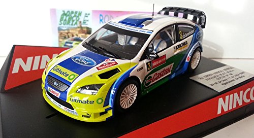 SCX Scalextric Slot Ninco 50439 Ford Focus WRC Wales Rally GB
