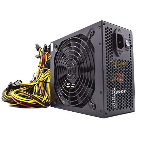 Xiaolizi Fuente de alimentación de PC 2000W para Bitcoin Miner ATX 2000W...