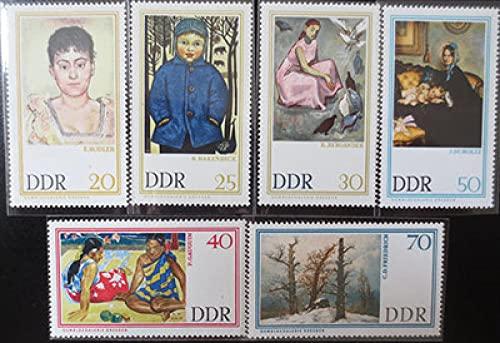 FGNDGEQN Colección de Sellos Sello alemán Este 1967 Dresden Galería