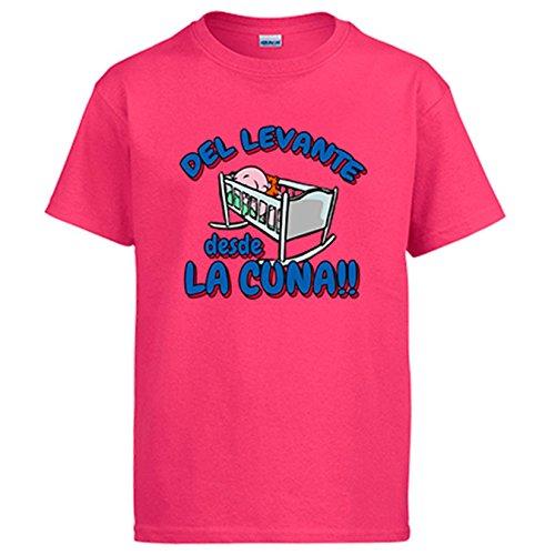 Diver Camisetas Camiseta del Levante Desde la Cuna para Aficionado al fútbol - Rosa, M
