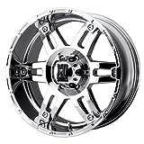 xd series 17x8 - XD-Series Spy XD797 Chrome Wheel (17x8