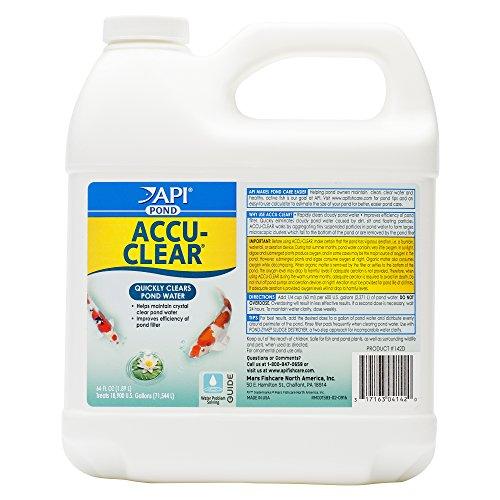 API POND ACCU-CLEAR Pond Water Clarifier 64-Ounce Bottle (142D)