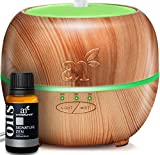 ArtNaturals Aromatherapy Essential Oil Diffuser – (5.0 Fl Oz / 150ml Tank) – Ultrasonic Cool Mist Aroma Humidifier - Auto Shut-Off Whisper Quiet and 7 Color LED Lights – For Home, Office & Bedroom
