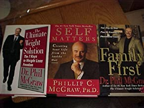 Dr Phil 3 Book Set, Self Matters, The Ultimate Weight Solution, Family First
