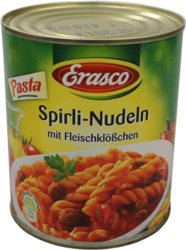 Erasco Spirli-Nudeln 800g