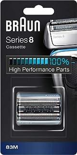 Braun Series 8 83M Byteskassett till Elektriskt Rakapparatshuvud - Silver - Kompatibel med Series 8