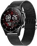 XYG Reloj inteligente de pantalla redonda Reloj de pulsera GPS...