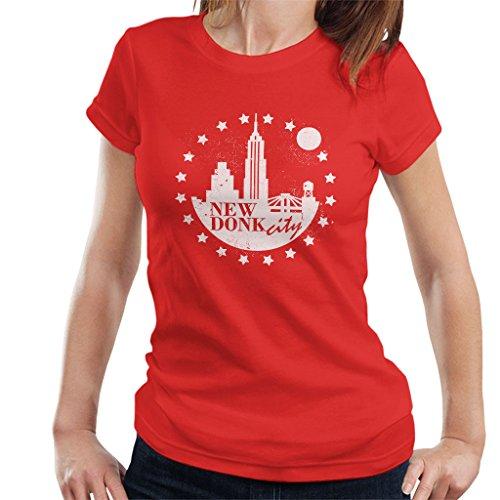 New Donk City Donkey Kong Women's T-Shirt Red