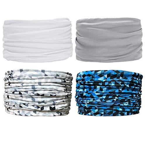 Sea Team 4 Stück/Packung gedruckt Bandanas Multifunktionstuch, 12 Arten Wahl Kopftuch, Stirnband, Motorrad Bandana, Kopftuch ect