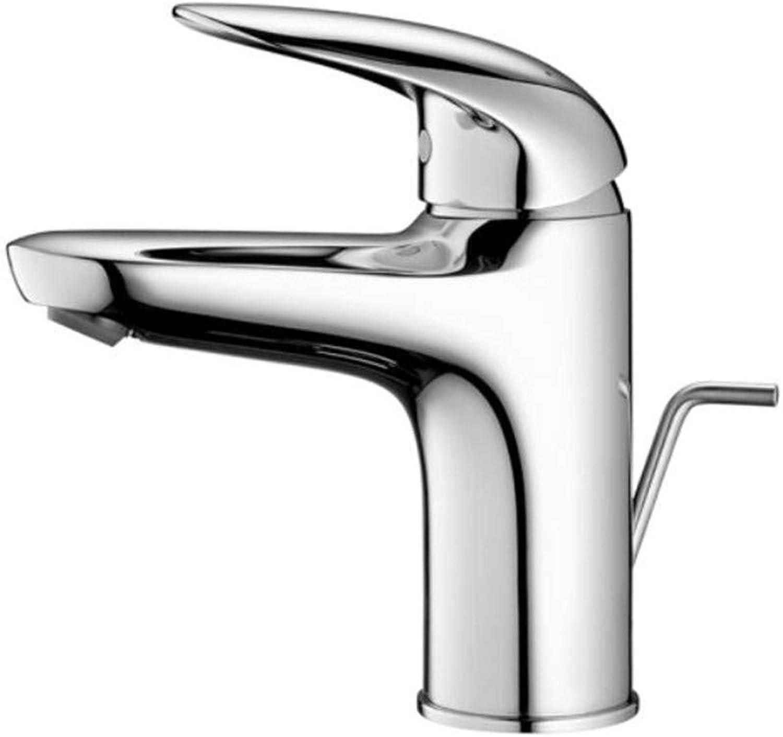 Faucet Waste Mono Spoutplatform Basin Splash-Proof Toilet Copper Washbasin Face Basin Single Hole Cold and Hot Dragon