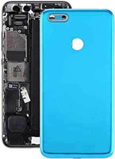 Mobile Phones Communication Accessories Battery Back Cover for Motorola Moto E6 Play (Color : Blue)