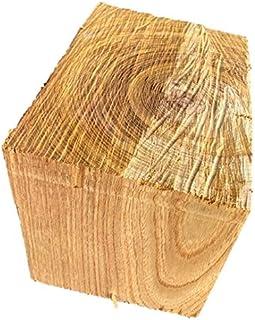 【送料無料!】ケヤキ 欅 けやき ブロック 角材 カット材 粗木 DIY ディスプレイ 210×150×150㎜ 【ワールドデコズ】