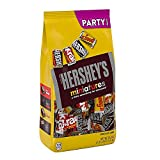 Contains one 35.9-ounce party pack of HERSHEY'S Miniatures in an assortment featuring HERSHEY'S Milk Chocolate, HERSHEY'S SPECIAL DARK Mildly Sweet Chocolate, KRACKEL Milk Chocolate with Crisped Rice and MR. GOODBAR Chocolate Candy with Peanuts Fill ...