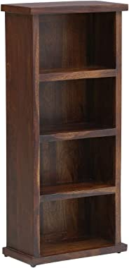 Woodsworth by Pepperfry - Ackley Solid Wood Book Shelf in Provincial Teak Finish