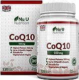 COENZIMA Q10-100 mg   120 Comprimidos   Complemento alimenticio de Nu U Nutrition