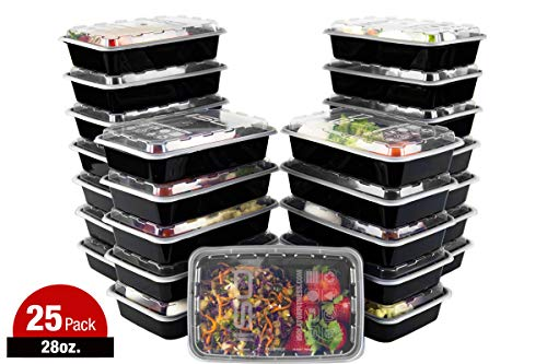 Meal Prep Containers - 28oz 25pk