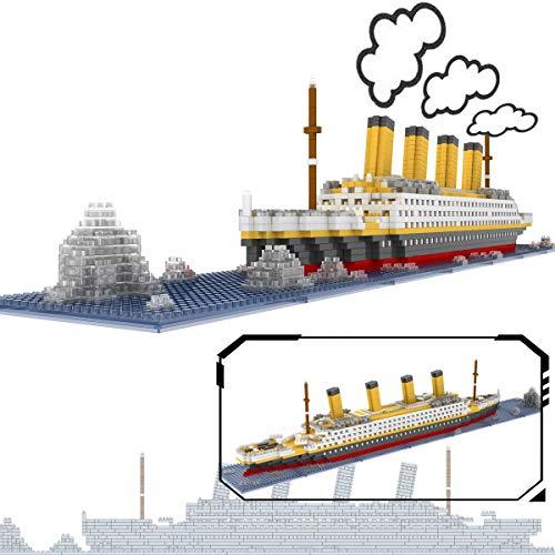 The Titanic Model Micro Block Build Set - NanoBlocks Micro Diamond DIY Educational Toys by GOCOUP