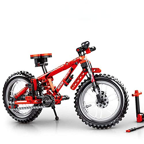 Children's Building Blocks Toys Kids 3-12 Years Old Children Mountain Bike Model Building Blocks Assembling And Inserting Plastic Boy Toys for Creative Play ( Color : Multi-colored , Size : One size )