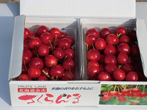 さくらんぼ Lサイズ 1kg (佐藤錦または紅秀峰)