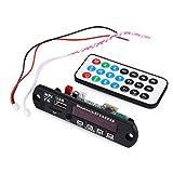 Gazechimp Módulo de Reproductor de Audio Bluetooth USB Altavoz de Control Remoto 7-12V