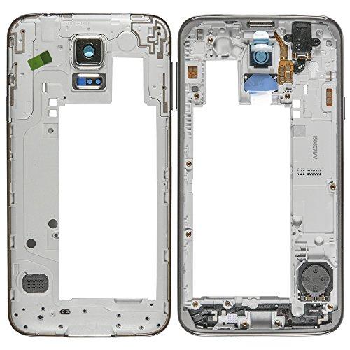 AGI Kompatibel Main Frame Silver für Samsung G903F Galaxy S5 Neo kompatiblen