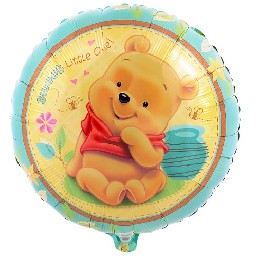 Party Destination 190390 Pooh Sweet Little One Foil Balloon by Mayflower Products