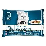 Purina Gourmet Perle comida para gato Delicias del Oceano 12