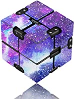 Infinity Cube Fidget Toy for Adults and Kids, Fidget Finger Toy Stress and Anxiety Relief, Killing Time Unique Idea Cool...