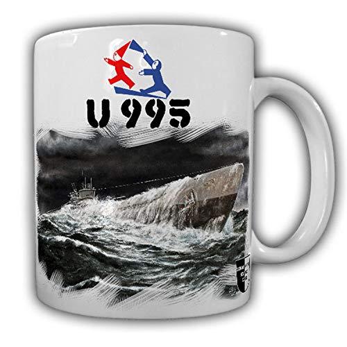 Tasse Lukas Wirp U995 Deutsches U-Boot Laboe Marine Meer Sturm Militaria #23640