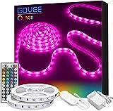 Govee LED Strip Lichtband, 10M RGB SMD 5050 Led Streifen Selbstklebend, Farbwechsel Led lichterkette...