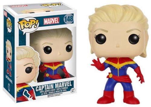 Funko 7274 Pop! Marvel: Unmasked Captain Marvel