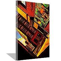 メインストリートキャンバスアートポスターとウォールアート写真プリント現代のファミリーベッドルームの装飾