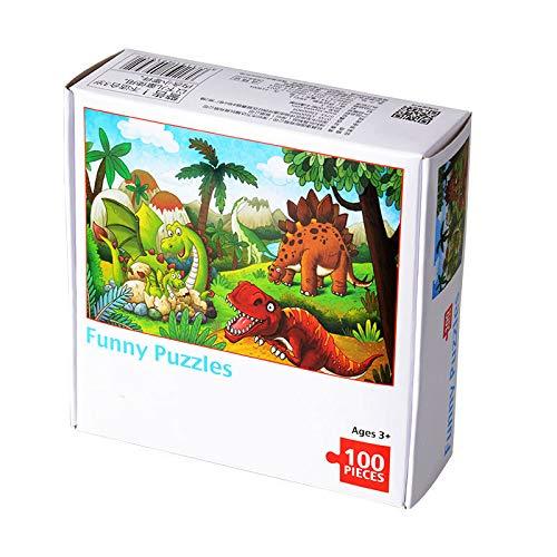 Btruely 100 Teile Große Puzzles für Erwachsene Bodenpuzzle Kinder Intellektuelles Spiel Lernen Bildung Dekompressionsspielzeug Kinder Puzzle Spiele kostenlos knobelspiele