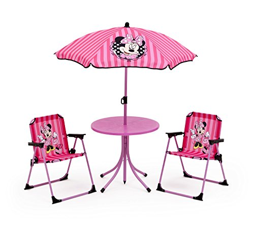 Disney Minnie Outdoor Patio Set (Pink)