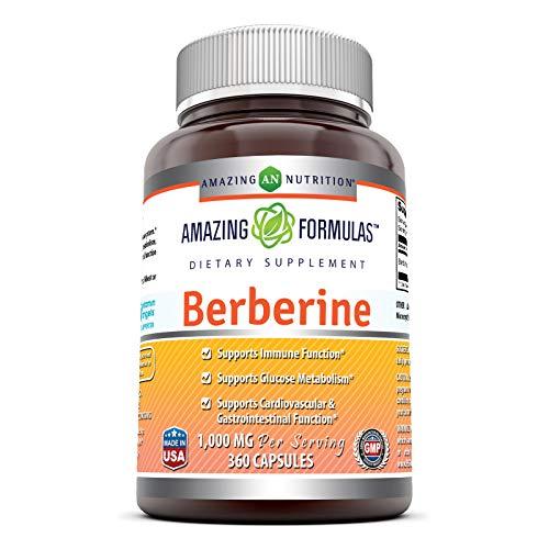 Amazing Formulas Berberine 500mg (1…