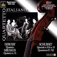 Debussy/Milhaud/Schubert