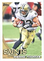 2010 Topps NFL Football Card #309 Pierre Thomas - New Orleans Saints - NFL Trading Card