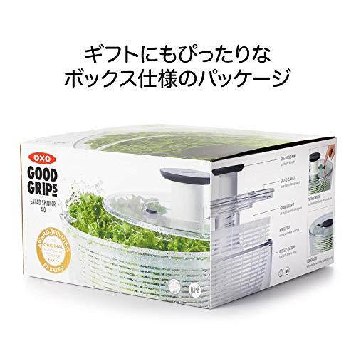 OXOサラダスピナー野菜水切り器大丸型