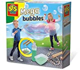 SES Creative 02251 Megabolle Deutschland 02251-Riesenseifenblasen Mega Bubble, bunt