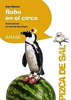 Robo en el circo (Pizca De Sal / Pinch of Salt) 846784096X Book Cover