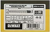 DEWALT DFM141032S - Anclaje tipo tornillo de punta azul con cabeza hexagonal BT10x75 Bolt-ZnPlt (Env. 25 Ud.)
