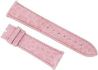 Accessories 21Abr48m Unisex Strap 21Mm Matte Pink Alligator Watch