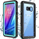 Nineasy Samsung Galaxy S8 Plus Case, Galaxy S8 Plus Waterproof Case with Built-in Screen Protector, Full Body Protection Underwater IP68 Shockproof Dropproof Case for Samsung Galaxy S8 Plus Teal